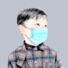 Medical Disposable Child Face Mask